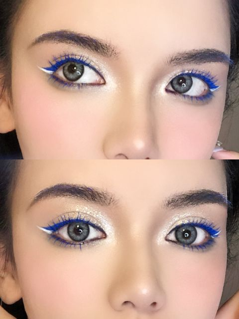 Only$7! You can make your eyelash blue with an eyeliner💙💙💙
