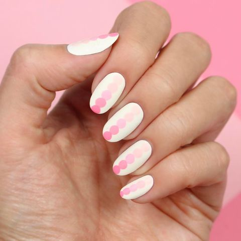 Typical ombre nail