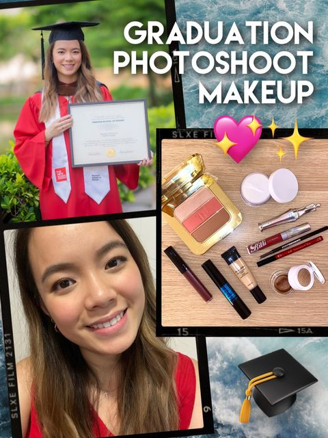 Makeup For My Graduation Photoshoot!!! 🎓💖✨