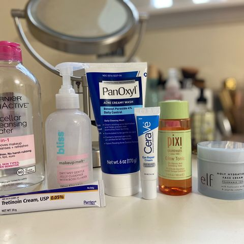 My night time routine!