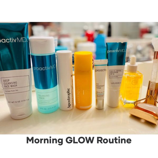 Morning Routine for GLOWING Skin | Cherie