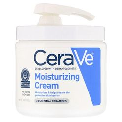 Moisturizing Cream with Pump, 16 oz (453 g)