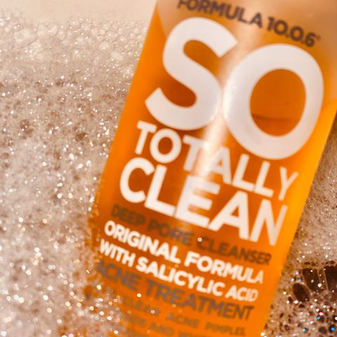 Formula 10.0.6: a new type of cleanser!