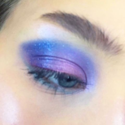 Highlighter Palettes work great as eyeshadow
