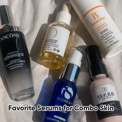 My Favorite Serums for Combo Skin