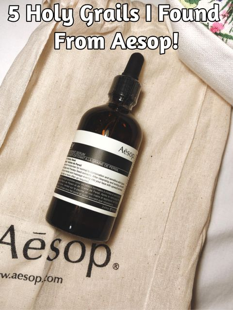 Must-Have Products From Aesop!💖💖
