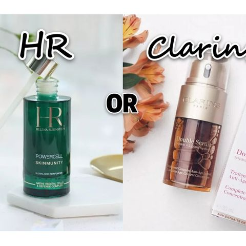 Recovery Serum:  HR?! OR Clarins ?!