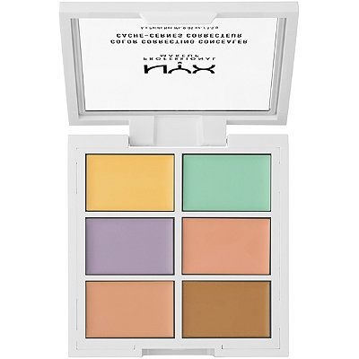 Color Correcting Concealer Palette, NYX, cherie