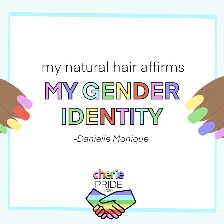 My Natural Hair Affirms My Gender Identity