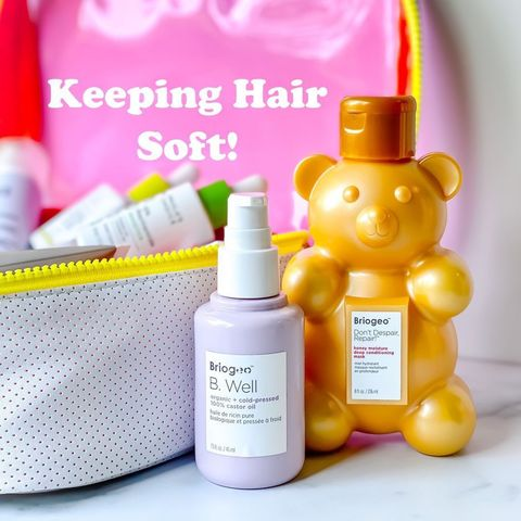 Keep Hair Soft Without Weighing It Down!