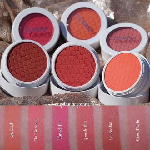 These are the blushes from col