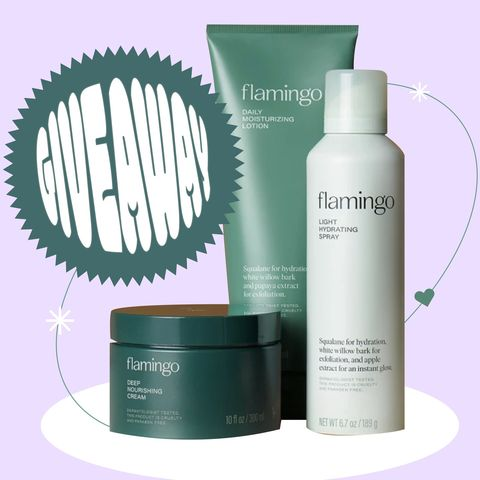 🌈GIVEAWAY LIVE with Flamingo body care!