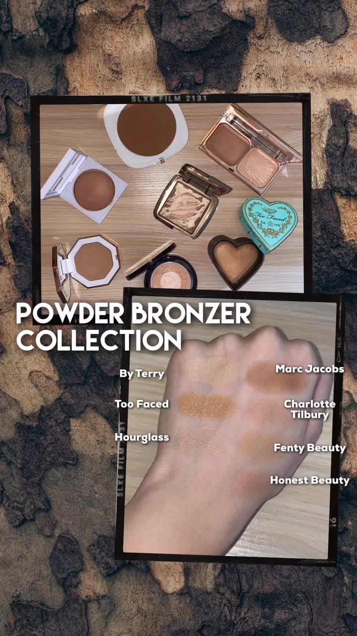 POWDER BRONZER COLLECTION💖✨ An Overview👀