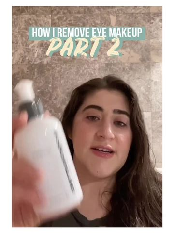 How I Remove Eye Makeup: Part 2