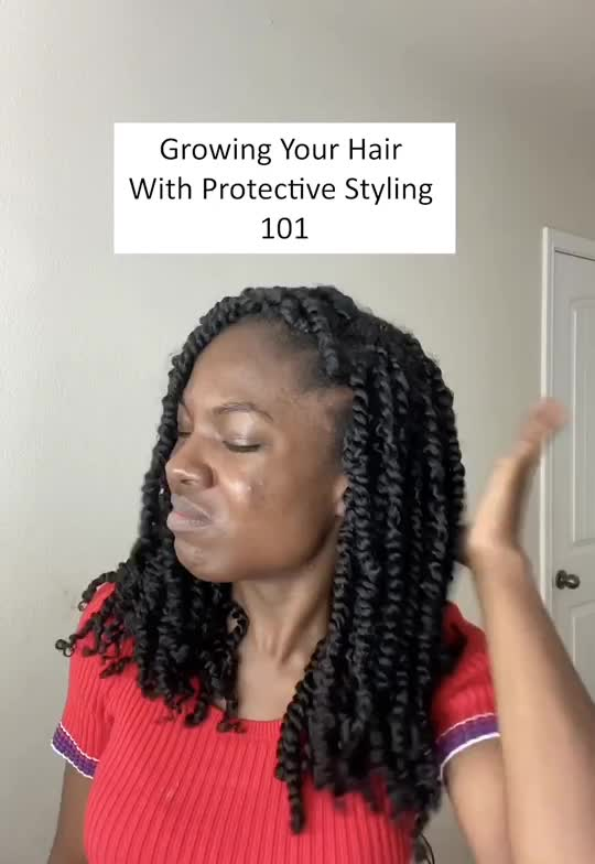 STOP THE ITCH IN A PROTECTIVE STYLE