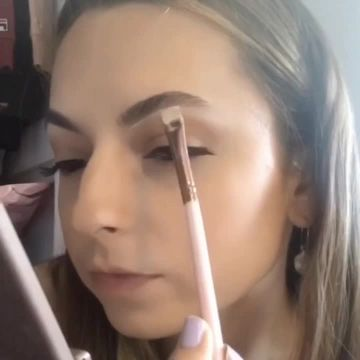 FEATHER BROW ROUTINE WITH HAIRSPRAY✨