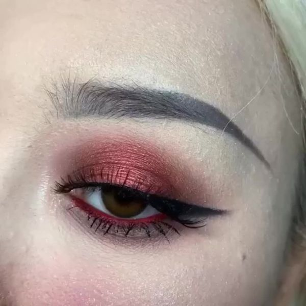 Say O To My Red Devil Makeup Cherie
