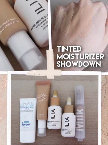 THE ULTIMATE TINTED MOISTURIZER SHOWDOWN✨