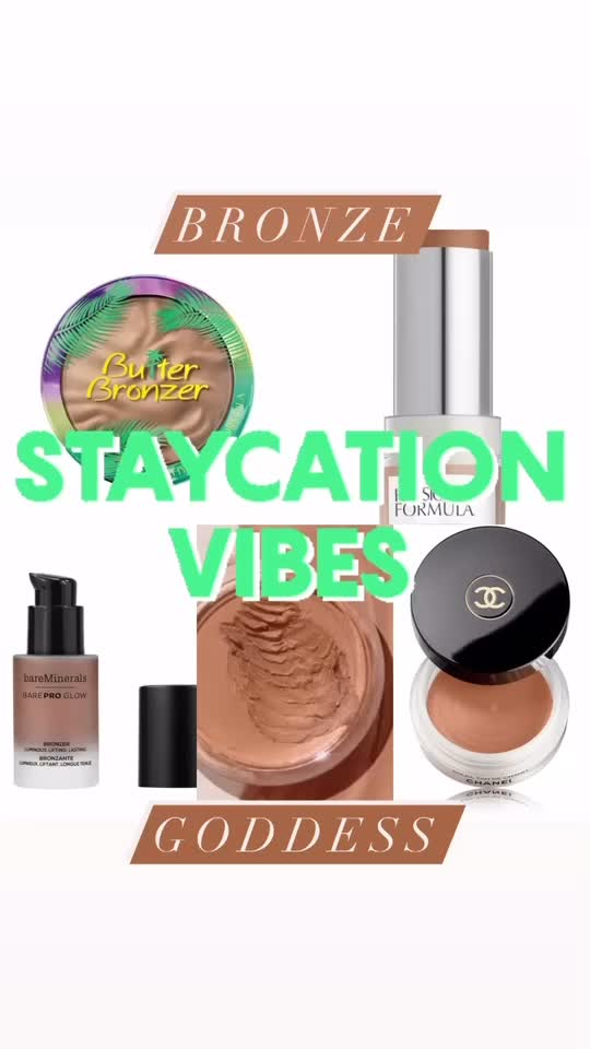 LET'S TALK BRONZER: Give me glow all year round!