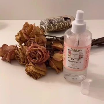 100% PURE rose water facial spray!